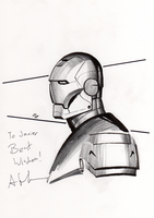 IronMan by Granov at Expocomic by Bou87