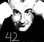 Douglas Adams by ZakThePelican