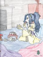 The lonely Princess 3 Elice by AngelicDragonElf