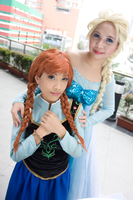 Frozen: A sister like me by nekomiKasai