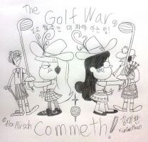 The Golf War by komi114