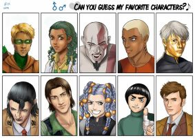 Guess who meme - guys by Autumn-Sacura