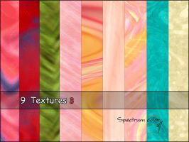 9 Textures -3 by spectrumcolor