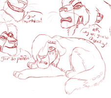Vent Sketches by ZinStone