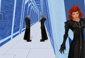 Axel Saix Xemnas, -The secret plan- by oOKira97Oo