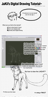 Digital Drawing Tutorial by JuKii