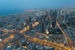 Dubai at night by abuethe