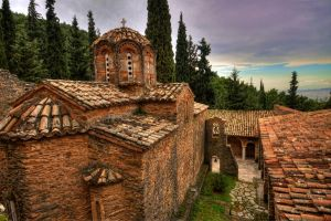 Church in Athens by GlueR