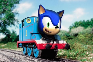 Sonic the Tank Engine by Sonicdude645