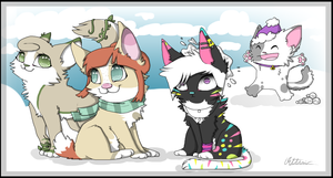~ Secret Santa 2013! ~ by Linthium