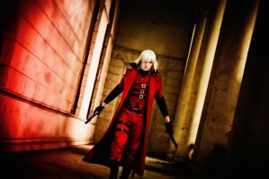 Devil May Cry -1 (DMC) Dante by IcyIrena