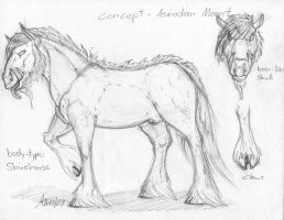 Asmodian mount concept by balorkin