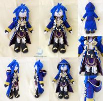 Fire Emblem Character Avatar (Robin) Plush Doll by dollphinwing