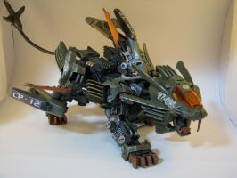 Blade Liger: Republic Forest Unit -Exploded View by waitingtoolong
