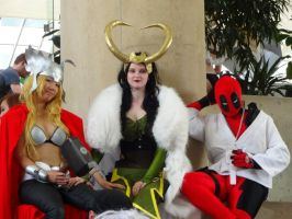 Marvel Group Cosplay by GamerZone18