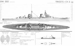 Technical Drawings: RM Trieste by bwan69