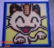 #52 Miaouss - Meowth by barteletjess