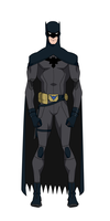 Dick Grayson Batman Remake/Titans Design by Bobkitty23