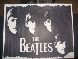 The Beatles by poeticbullet