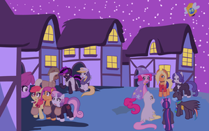 Nightmare Night 2012 Wallpaper by jake-heritagu