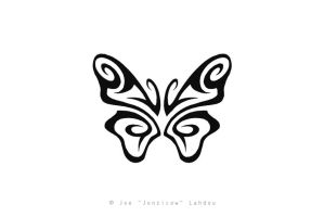 Tribal Butterfly by JONZICOW