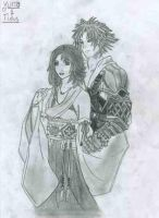 Tidus and Yuna by Lucrecia1337
