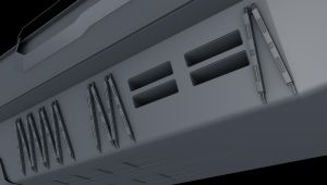 Hanger Struts by The-Didact