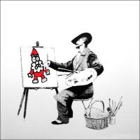 Kabouter Wesley Banksy by bulletinyurass