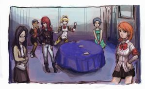 Persona 3 Sequence  Part 1 by TheAmericanDream