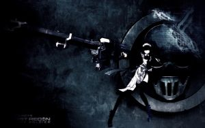 Ghost Recon: Maid Gunner Warfighter by Noir-Black-Shooter