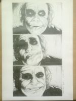 Joker Drawing 08-04-2010 by ChristiaanR1990
