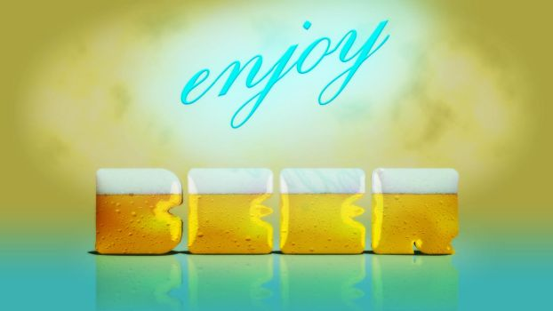 Enjoy beer by TheStro