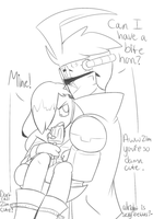 IZ headcanon ZADR: Cold as a popsicle by ReneesDetermination