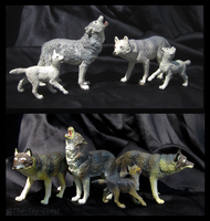Safari Ltd. Vanishing Wild - Wolves by The-Toy-Chest