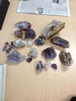 What we mined at the amethyst mine by genieinafilebox