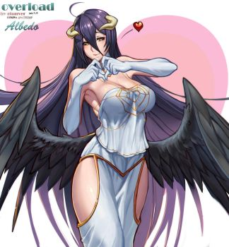overlord Albedo by Gtunver