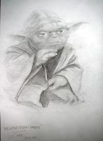 Star Wars - Yoda by katesw