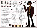 The Voice Character Sheet by SankofaRida
