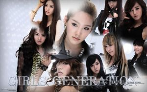 RDR Wall SNSD White by ganyonk