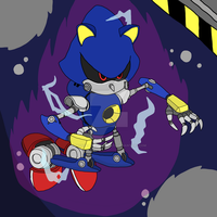 Metal Sonic  by SpongeDudeCoolPants