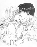 kurapika and kuroro by Blacksspirit
