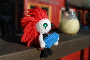 Axel and ice cream (Gift) by Pumkinkiller777