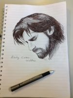 (Fast drawing) Nikolaj Coster-Waldau. by NightMagican