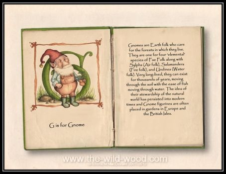 G is for Gnome by WildWoodArtsCo