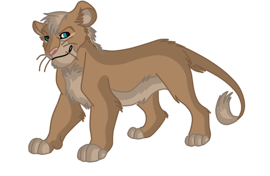 Kilani Lion Stage 3 Teenager by phoenixfairy555