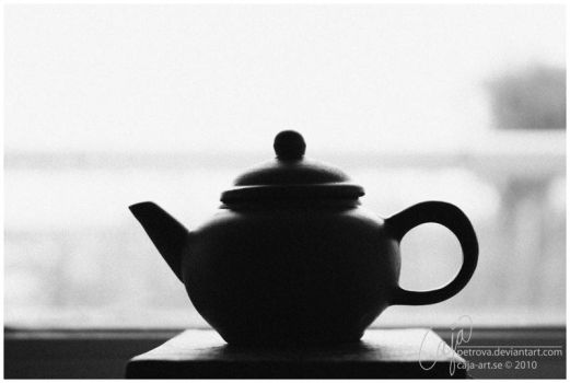 Tea silhouette by petrova