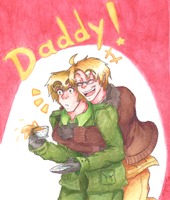 APH - Daddy! by Rainbowspark88