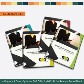 Corporate Business Brochure by hawkmax