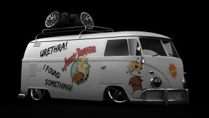 VW Type 2 T1 Panel Van ABeaver by DarkStryder360