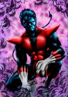 Nightcrawler (colors) by FantasticMystery
